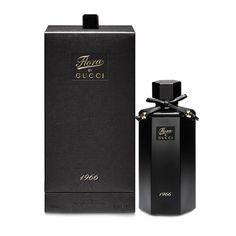 Flora 1966 от Gucci #Gucci Потрясающий аромат, созданный для роскошной женщины, был представлен в 2013 году знаменитым французским брендом. Его создатели играют на контрастах, заключив удивительную композицию в строгий и элегантный флакон черного цвета с кокетливым бант�