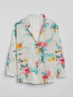 Dreamwell Floral Print Long Sleeve Top | Gap