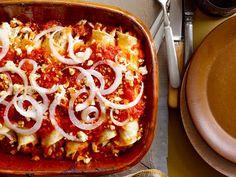 Get Chicken Enchiladas Suizas Recipe from Food Network