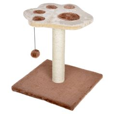 44cm Cat Scratching Pole Post Tree Kitten Activity