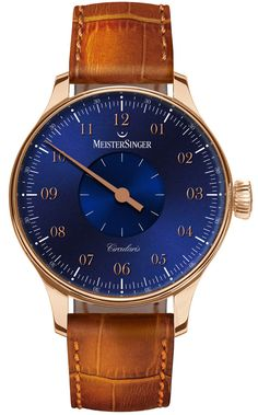 MeisterSinger Watch Circularis Gold Blue Limited Edition Pre-Order #basel-15…