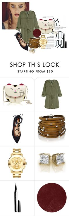 A Weekend Away by kreesha on Polyvore featuring H&M, Steve Madden, Movado, Sif Jakobs Jewellery, Burberry and Marc Jacobs