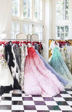 Giambattista Valli Charlotte - Duke Mansion Fashion Show