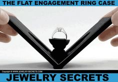 ► ► This FLAT Engagement Ring Case is SOOOO COOL!!! ► ► Take a look...