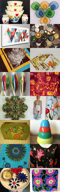 Oh the COLORS!! by NineUh Malone on Etsy--Pinned with TreasuryPin.com
