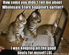 How come you didn't tell me about Wholesale Store Suppliers earlier?#WSS