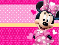 Invitación Minnie Mouse