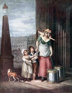 Milk maid, Francis Wheatley, 1790s