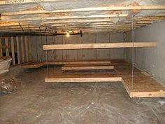 Awesome Ideas Bat Crawl E Idea For Unused Under A House Storage Attic