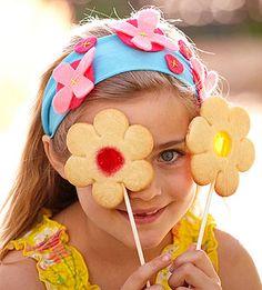 Life Savers + Sugar Cookie Dough = Lolli-Flowers