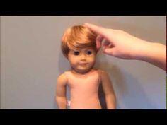 TRANSFORMATION TIME! Making a Boy Doll
