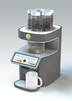 fancy tea-maker prototype
