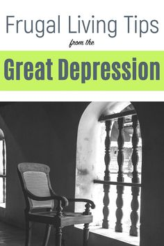 Are you struggling with how to save more money? Learn from the thrifty living experts-- families living during the great depression. Check out these super frugal living tips that can start saving you money today. Money Saving tips   How to Save Money   Money Saver   Frugal