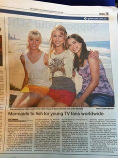 """It was the first article for 'Mako Mermaids'. and Ivy Latimer. Moon Pool, H2o Mermaids, Mermaid Poster, Mermaid Wallpapers, Mermaid Outfit, Dance Academy, Star Wars Jedi, Merfolk, Series Movies"