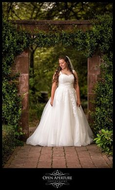 One of the Tryon Palace gardeners, Hadley, had her bridal portrait photographed around Tryon Palace Gardens!