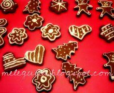 Melegueta...                      piccole ricette per un matrimonio (quasi) perfetto: Biscotti glassati al cacao