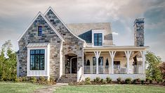 Looking for the best house plans? Check out the Elberton Way plan from Southern Living. Open Floor House Plans, Best House Plans, Dream House Plans, Floor Plans, House Floor, Stone House Plans, Southern Living House Plans, Cottage House Plans, Cottage Homes