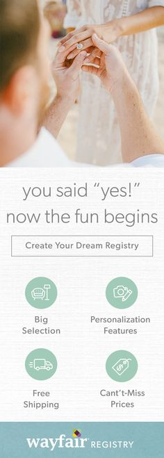 1000 images about wayfair registry on pinterest gadget for At home wedding registry