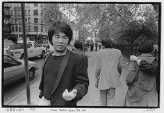Ai Weiwei, outside Tompkins Square Park, 1986.