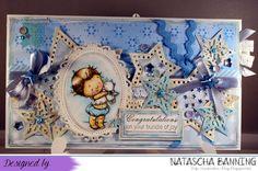 Card for a newborn baby boy http://nataschas-blog.blogspot.de/2016/04/stempel-magie-126.html