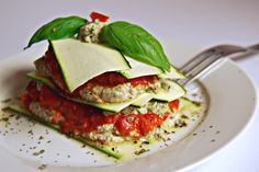 Raw Lasagna with almond pulp (Vegan/Raw/Gluten Free) - Antigone XXI