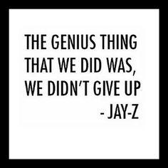 Never give up ladies..  http://ift.tt/1Jl3xCR  #xanasboutique #jayz #dontgiveup #seancarter #genius #winternights #lfw #ootd #europefashion #fashionismo