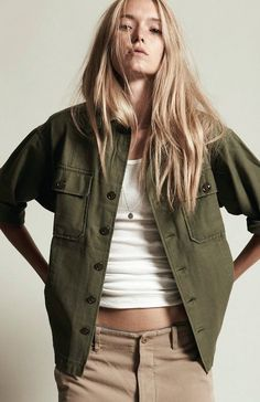 NLST Military Jacket available now at shopheist.com