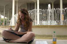 Find a quiet place near water for extra concentration when studying
