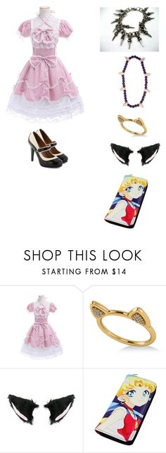 """""""anime fashion"""" by garnetthesavage ❤ liked on Polyvore featuring Nana' and Allurez"""