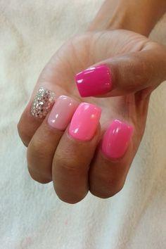 Cute ombre nails!!!