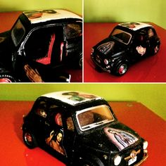 SPORKO SANCHEZ : MEXICAN500 - FIAT 500 CUSTOMIZE4D WITH MEXICAN FLAVOUR.ENAMEL AND DECOUPAGE - 1:43 INFO : colera.lafamiglia@gmail.com - Facebook : Famiglia Colera