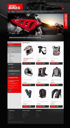 Bike Store Magento Template #website #shop #moto #theme http://www.templatemonster.com/magento-themes/40182.html?utm_source=pinterest&utm_medium=timeline&utm_campaign=bs