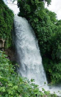 The waterfalls of Edessa, Greece