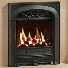 Gazco Logic HE Richmond Inset Gas Fire - Hotprice.co.uk
