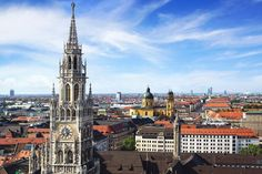 Germany's intensely beautiful scenery, stimulating culture, picturesque palaces and quaint towns will definitely add richness to your travel memories! Visit Munich, City Museum, Travel Memories, Best Cities, Park City, Empire State Building, Big Ben, Attraction, Traveling By Yourself