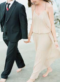 Charleston Beach Engagement Session on Wedding Sparrow   Chris Isham Photography