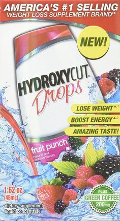 Hydroxycut Weight Loss Drops, Fruit Punch, 1.6 Ounce >> Hurry! Check out this great product : Weight loss Shakes and Powders