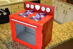 Riciclo creativo: come costruire una cucina fai da te per bambini con le scatole di cartone