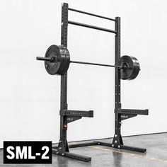 With steel uprights, fat/skinny pull-up bar, and a wide range of accessories, the is more power rack than squat rack. See more at Rogue Fitness. Stand And Deliver, Squat Stands, Multi Gym, Plate Storage, Rogue Fitness, Pull Up Bar, Power Rack, Home Gym Equipment, Workout Equipment