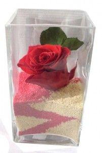 Otra forma de regalar rosas...
