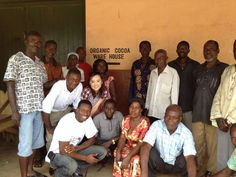 Choco-revo with Organic cocoa farmers association in Ghana
