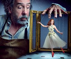 Amy Adams & Tim Burton by Annie Leibovitz                                                                                                                                                     More