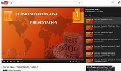 Un completo curso gratuito y en español para aprender programación en Java partiendo desde cero. En estos momentos se compone de un total de 141 vídeos.