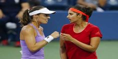 Sania Mirza and Martina Hingis wins Wuhan Open title