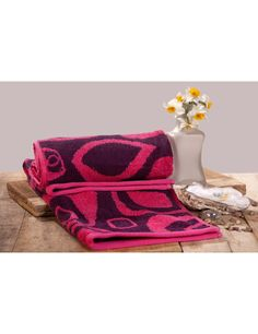 Abstract Jacquard Fabric 2 Piece Hand Towel Set By Trident @ Rs 249