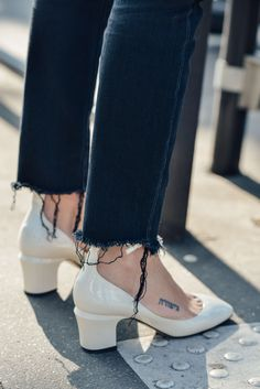 March 11, 2015  Tags FW15 Women's, Shoes, Frayed, Valentino