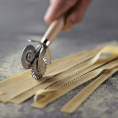 This is definitely on my birthday wish list! Dual Blade Pasta & Pastry Cutter { Williams-Sonoma.com}
