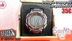Orologio Cronografo Con Pedometro Da Sa.Mi. Gioielli http://affariok.blogspot.it/