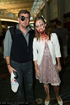 Governor and Penny Blake (The Walking Dead) | Cosplay | Pinterest ...
