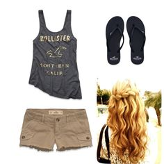 HOLLISTER SUMMER One of my fav outfits